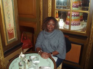 Knowing the social mores of a foreign country or city -- especially when it comes to dining, shopping and socializing -- can make or break your overseas trip. Here I am, finishing lunch at the famed Laduree tea salon in Paris.